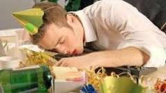 Алкогольне отруєння симптоми і лікування