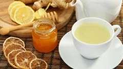 Чай з медом і лимоном від застуди