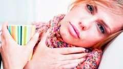 Що робити, якщо болить горло?