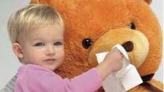Дитячий простудний нежить