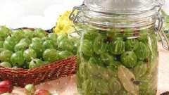 Домашні соління з агрусу - незвично і дуже смачно!