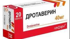 Дротаверин: інструкція із застосування