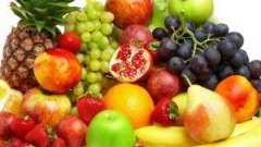 Фрукти при гв: вибираємо не тільки смачні, але і корисні