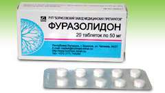 Фуразолідон - інструкція із застосування