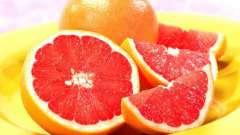 Грейпфрут. Корисні властивості
