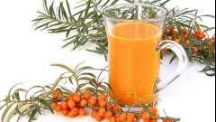 Ідеальний напій для зими і літа - обліпиховий морс
