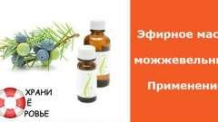 Ефірна олія ялівцю. Застосування
