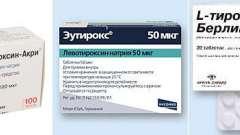 «Еутірокс» або «л-тироксин»?