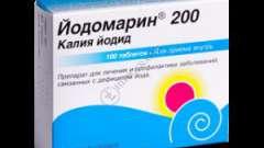 Йодомарин 200 - інструкція, детальний склад і допустима форма випуску