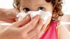 Як швидко вилікувати нежить у дитини?
