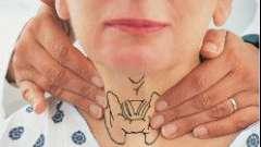 Як проводять пальпацію щитовидної залози