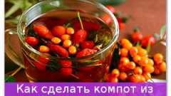 Як зробити компот з фруктів і ягід?