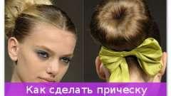 Як зробити зачіску валик елегантною?