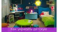 Як прикрасити дитячу кімнату: свято своїми руками