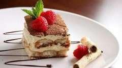 Класичний італійський десерт - тірамісу