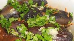 Квашені баклажани - відмінна закуска на кожен день