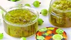 Легке желе зі свіжих ягід агрусу - ідеальний варіант для літнього свята!