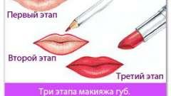 Макіяж губ: поради, як правильно фарбувати губи