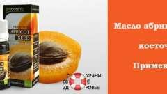 Масло абрикосових кісточок. Застосування