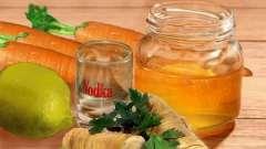 Мед і горілка - для організму цінна знахідка!