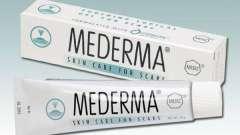 Медерма - гель від розтяжок і рубців
