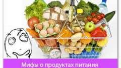 Міфи про продукти харчування (9 популярних)