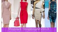 Модні тенденції 2013: сукні знову на модному олімпі!