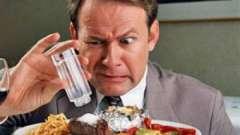 Натрій в продуктах харчування - про добової потреби і солі дієті