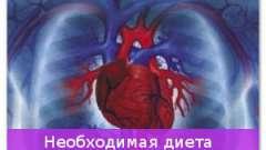 Необхідна дієта при хворобах серця