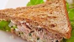 Низькокалорійні бутерброди: рецепти з фото