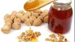 Горіхи і мед для потенції