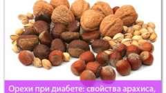 Горіхи при діабеті: властивості арахісу, кешью, фундука, мигдалю і ін.