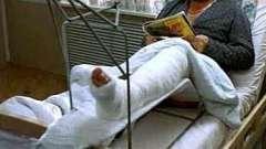 Перелом. Лікування після перелому народними засобами.