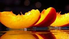 Персикове масло. Застосування