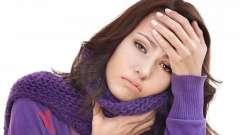 Перша допомога при болю в горлі