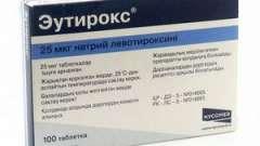 Побічні ефекти препарату еутірокс