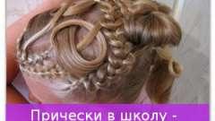 Зачіски в школу - прикольні і цікаві