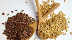 Застосування насіння льону для очищення кишечника