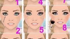 Простий макіяж: фото з описом