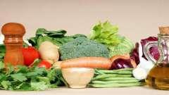 Дозволені продукти харчування при цукровому діабеті (таблиця)
