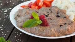 Рецепти страв з льняної муки