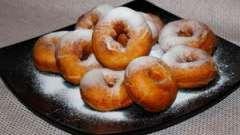 Рецепти приготування пончиків