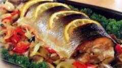 Риба в духовці: дієтичні рецепти