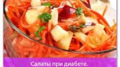 Салати при діабеті. 7 рецептів для хворих на діабет