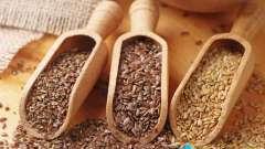 Насіння льону для шлунка: користь і протипоказання