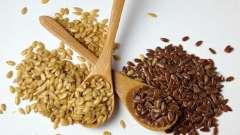Насіння льону і насіння при діабеті 2 типу