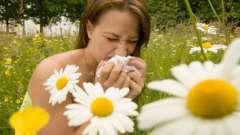 Сезонна алергія. Причини появи, симптоми і лікування
