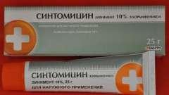 Синтоміцинова мазь інструкція із застосування