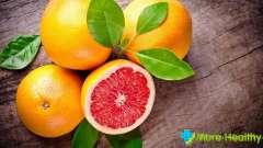 Скільки калорій в грейпфруті: деякі протипоказання