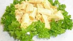 Спаржа з сої доступна, смачна і для здоров`я корисна вона